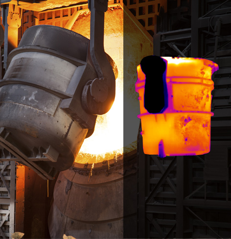 Condition Monitoring Of Steel Ladles With Ir Cameras