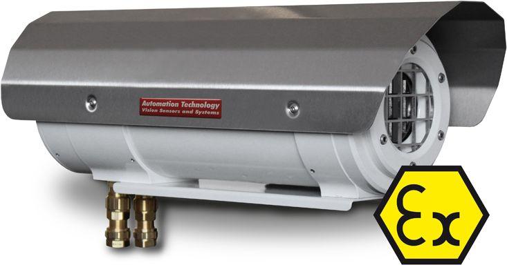 Explosionsgeschütztes Gehäuse für Wärmebildkameras